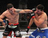 UFC on FOX 2: Jan 28,2012 - Chris Weidman vs Demian Maia Photographic Print by Nick Laham