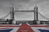 Puente de Londres Lámina por Tanya Chalkin