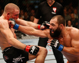 UFC 167: Nov 16, 2013 - Johny Hendricks vs Georges St-Pierre Photographic Print by Josh Hedges