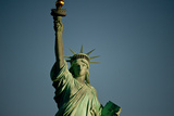 Low Angle View of a Statue, Statue of Liberty, Manhattan, New York City, New York State, USA Photographic Print by Green Light Collection