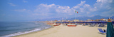 Resort on the Beach, Viareggio, Tuscany, Italy Photographic Print