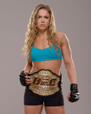 UFC Fighter Portraits: Ronda Rousey Foto von Jeff Bottari