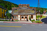 Facade of the High West Distillery Building, Park City, Utah, USA Photographic Print by Green Light Collection
