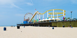 Pacific Park, Santa Monica Pier, Santa Monica, Los Angeles County, California, USA Photographic Print