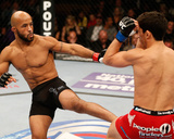 UFC on FOX: Jul 27, 2013 - Demetrious Johnson vs Joseph Benavidez Photographic Print by Josh Hedges