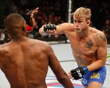 UFC 165: Sept 21, 2013 - Jon Jones vs Alexander Gustafsson Fotografisk tryk af Josh Hedges