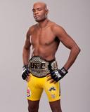 UFC 148: Jul 7, 2012 - Anderson Silva vs Chael Sonnen Photographic Print by Jim Kemper