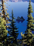 Crater Lake at Crater Lake National Park, Oregon, USA Photographic Print by Green Light Collection
