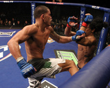 WEC 53: Dec 16, 2010 - Ben Henderson vs Anthony Pettis Fotografisk tryk af Josh Hedges