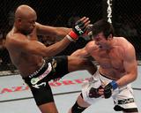 UFC 117: Aug 7, 2010 - Anderson Silva vs Chael Sonnen Photographic Print by Josh Hedges