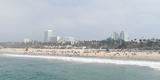 Santa Monica Beach, Santa Monica, Los Angeles County, California, USA Photographic Print