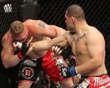 UFC 121: Oct 23, 2010 - Brock Lesnar vs Cain Velasquez Photographic Print by Josh Hedges