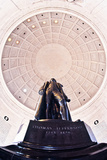 Statue of Thomas Jefferson in a Memorial, Jefferson Memorial, Washington Dc, USA Photographic Print by Green Light Collection