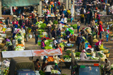 People at a Traditional Town Market, Xizhou, Erhai Hu Lake Area, Yunnan Province, China Photographic Print by Green Light Collection