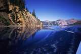 Morning Light at Eagle Point, Crater Lake National Park, Oregon, USA Photographic Print by Green Light Collection