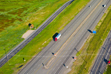 Traffic on Highway, Interstate 80, Park City, Utah, USA Photographic Print by Green Light Collection