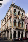 Buildings Along the Street, Havana, Cuba Photographic Print by Green Light Collection
