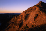 The Watchman at Sunrise, Crater Lake National Park, Oregon, USA Photographic Print by Green Light Collection