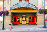 Facade of the Egyptian Theater, Main Street, Park City, Utah, USA Photographic Print by Green Light Collection