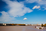 City at the Waterfront, Garonne River, Bordeaux, Gironde, Aquitaine, France Photographic Print by Green Light Collection