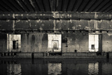Interiors of World War Two-Era Nazi Submarine Base Now an Art Gallery, Bordeaux, Gironde Photographic Print by Green Light Collection