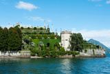 Formal Garden on the South End of Isola Bella, Stresa, Borromean Islands, Lake Maggiore Photographic Print by Green Light Collection