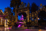 Fountain at a Square, Place Stanislas, Nancy, Meurthe-Et-Moselle, Lorraine, France Photographic Print by Green Light Collection