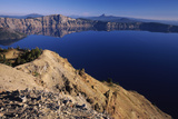 Crater Lake, Garfield Peak, Crater Lake National Park, Oregon, USA Photographic Print by Green Light Collection