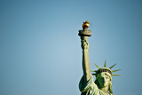 Low Angle View of the Statue of Liberty, Liberty Island, New York City, New York State, USA Photographic Print by Green Light Collection