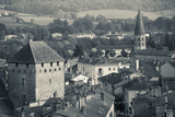 Abbey in a Town, Cluny Abbey, Maconnais, Saone-Et-Loire, Burgundy, France Photographic Print by Green Light Collection