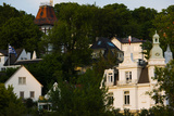 Villas on a Hill, Blankenese, Hamburg, Germany Photographic Print by Green Light Collection