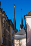 Church in the City, Notre Dame Cathedral, Luxembourg City, Luxembourg Photographic Print by Green Light Collection
