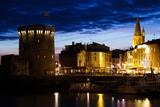 Tour De La Chaine Tower, Old Port, La Rochelle, Charente-Maritime, Poitou-Charentes, France Photographic Print by Green Light Collection
