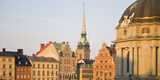 Skyline of a City, Gamla Stan, Stockholm, Sweden Photographic Print by Green Light Collection