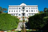 Low Angle View of a Villa, Villa Carlotta, Tremezzo, Lake Como, Lombardy, Italy Photographic Print by Green Light Collection