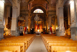 Interiors of a Church, Saint Esprit Church, Aix-En-Provence, Bouches-Du-Rhone Photographic Print by Green Light Collection