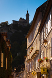 Buildings in a Town, Rocamadour, Lot, Midi-Pyrenees, France Photographic Print by Green Light Collection
