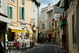 Buildings Along a Street, Rue Porte De Laure, Arles, Bouches-Du-Rhone Photographic Print by Green Light Collection