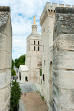 Church in a City, Cathedrale Notre-Dame Des Doms D'Avignon, Palais Des Papes, Avignon, Vaucluse Photographic Print by Green Light Collection