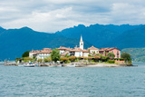 Town on an Island, Isola Dei Pescatori, Stresa, Lake Maggiore, Piedmont, Italy Photographic Print by Green Light Collection