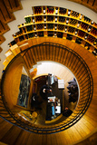 Overview of the L'Intendant Wine Shop Staircase, Bordeaux, Gironde, Aquitaine, France Photographic Print by Green Light Collection