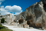 Ruins of a Fortress, Les Baux-De-Provence, Bouches-Du-Rhone, Provence-Alpes-Cote D'Azur, France Photographic Print by Green Light Collection