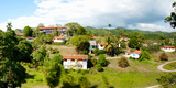 Housing for Residents at Las Terrazas, Pinar Del Rio, Cuba Photographic Print by Green Light Collection