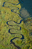 Aerial View of a Stream, Park City, Utah, USA Photographic Print by Green Light Collection