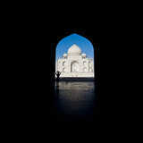 Mausoleum Viewed Through an Arch, Taj Mahal, Agra, Uttar Pradesh, India Photographic Print by Green Light Collection