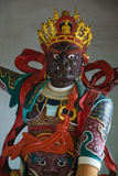 Temple Guardian Statue, Bamboo Temple, Kunming, Yunnan Province, China Photographic Print by Green Light Collection