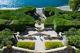 Entrance of a Villa, Villa Carlotta, Tremezzo, Lake Como, Lombardy, Italy Photographic Print by Green Light Collection