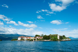 Isola Bella Seen from Ferry, Stresa, Lake Maggiore, Piedmont, Italy Photographic Print by Green Light Collection