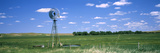 Windmill in a Field, Nebraska, USA Fotodruck