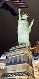 Low Angle View of a Statue, Statue of Liberty, New York New York Hotel, Las Vegas, Nevada, USA Photographic Print by Green Light Collection
